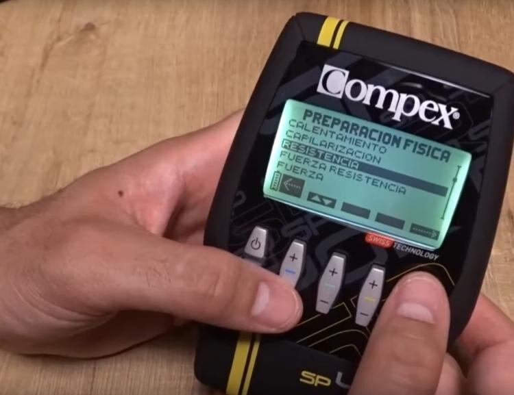 Compex Sp 4 0 Programas Del Electroestimulador Muscular Compex