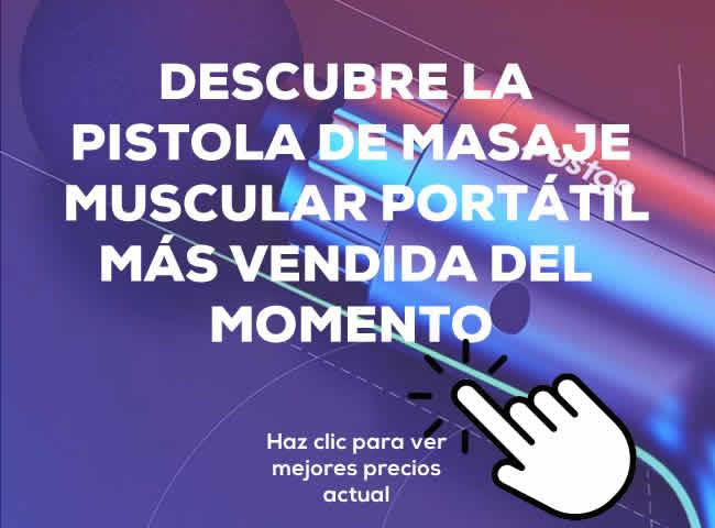 Pistola Masaje Pistola De Masaje Muscular Portatil De Mano