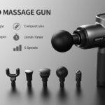 5 Pistolas Masaje Para Dolor de Cuello y Espalda
