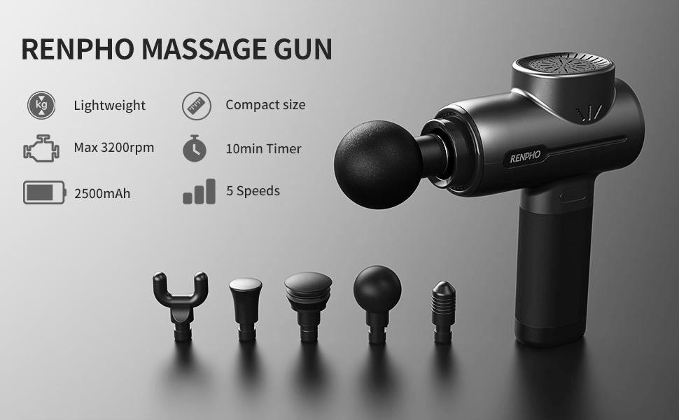 Pistola Masaje Renpho Gun Deep Tissue